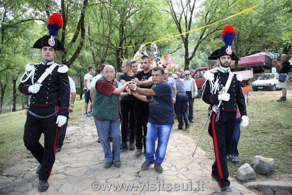 Processione ad Arcuerì